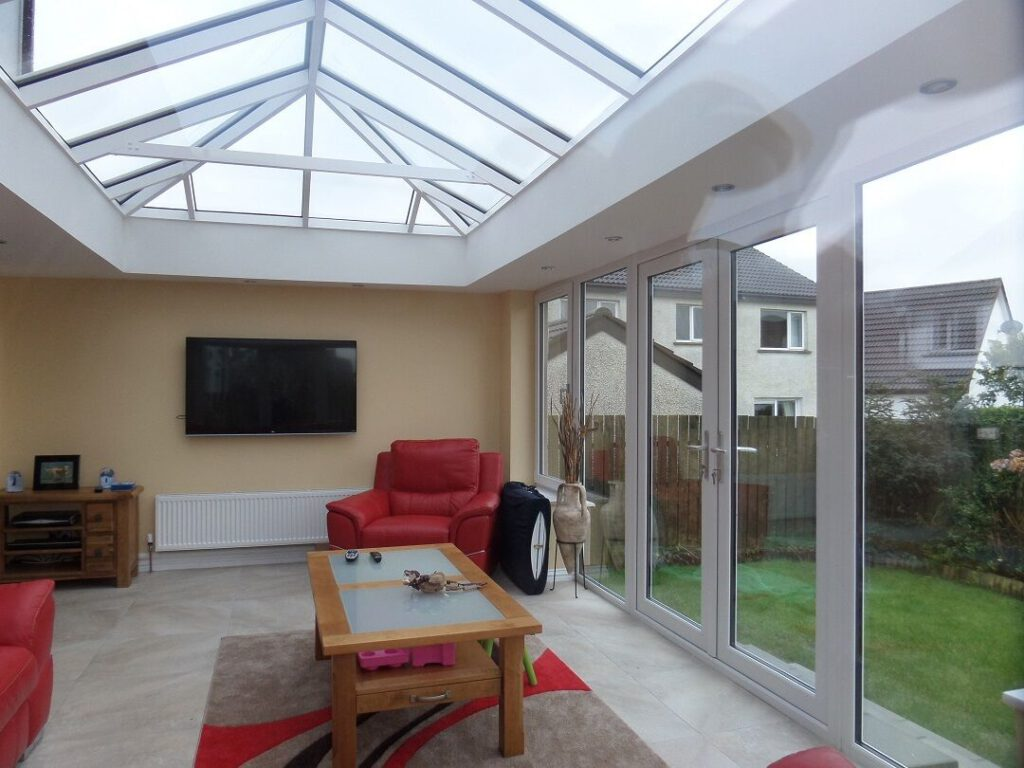 roof lanterns with french doors