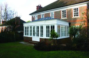 Roseview PVCu windows in a house.