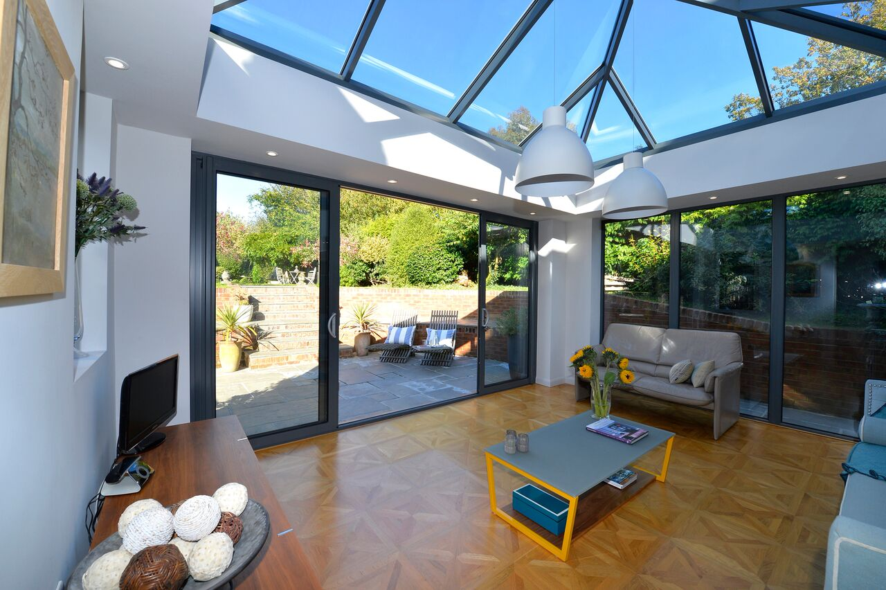 Aluminium Sliding Patio Doors Aspire Bifolds Surrey