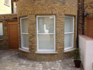 white new sash windows
