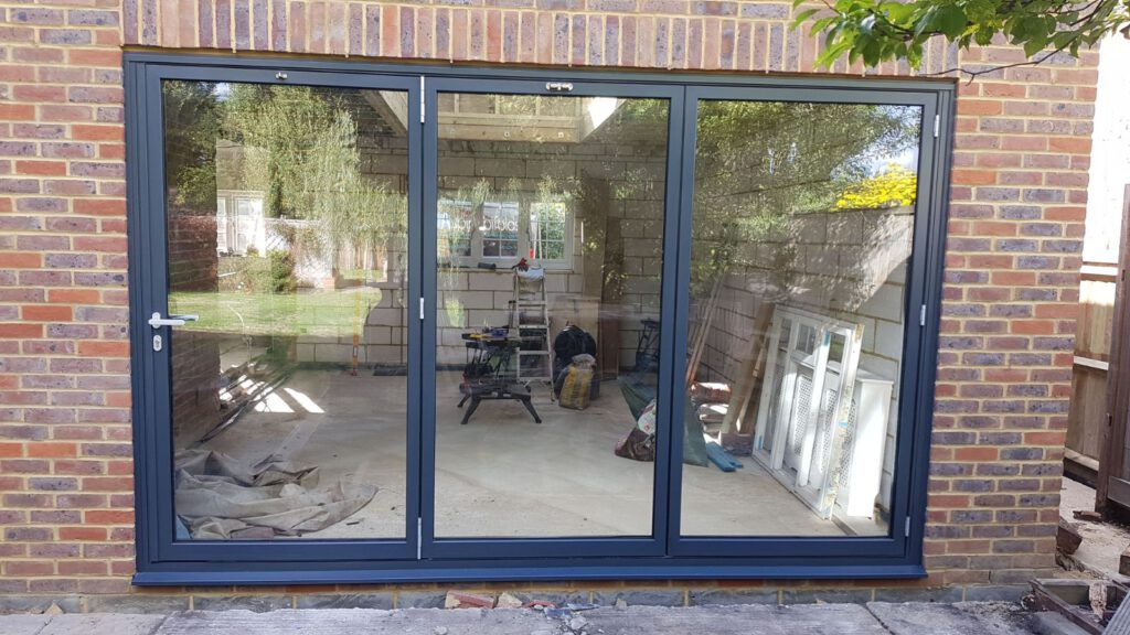 on sale 127ec a9674 Schuco bifold doors and lantern roof | Aspire Bifolds - Home ...